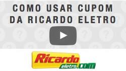 Veja como utilizar cupom de desconto da Ricardo Eletro